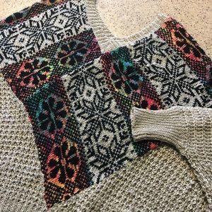 Vestique oversized sweater